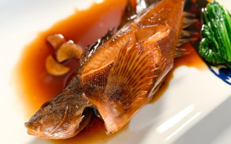 黄金比率で作る根魚(クジメ)の煮付け